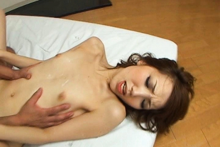 Ai Japanese beauty enjoys a hard rear fucking