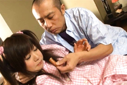 Shino Nakamura Asian model gets her cunt cream filled