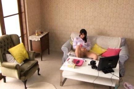 Shou Nishino Lovely Japanese model has smooth pussy
