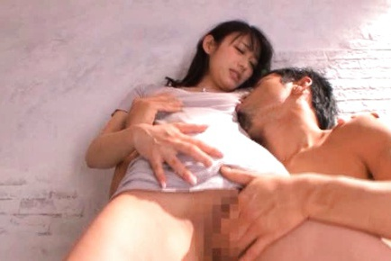 Shou Nishino Lovely Japanese model has sweet shaved pussy
