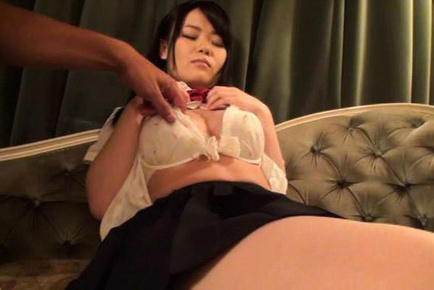 Momo aizawa has shaved cunt licked and explored with sucked 8