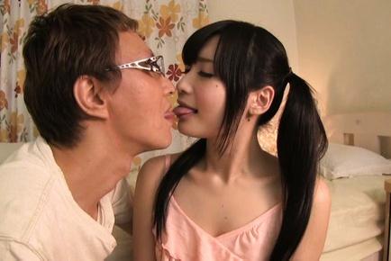 Superb Asian Ringo Aoi loves hardcore sex scenes