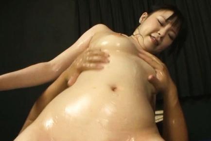 Busty japanese hottie Sunoa Sakura gets nailed hard