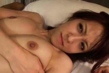 Erisa Mochizuki is a hot Japanese gal with shaved pussy