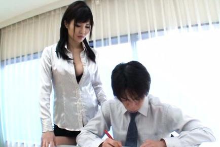 Superb Kotori Hanagara enjoys hard sex session