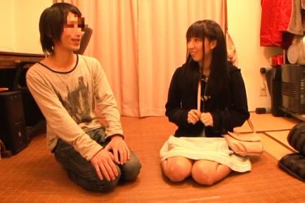 Kinky Yuuki Itano loves surprises of the sexual kind