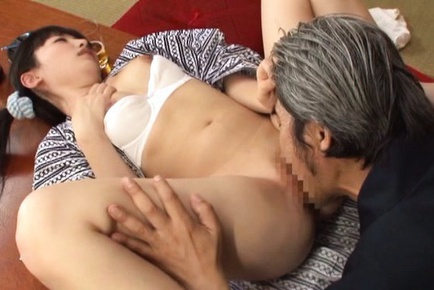 Naughty Arisa likes sex with old horny guys
