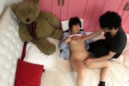 Cock sucking with a juicy and nice teen