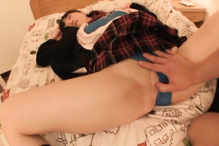 Horny pigtailed babe Agasa Itou gets nailed in doggystyle