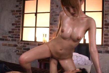 Massage turns wild for Japanese nurse Tsubasa Amami