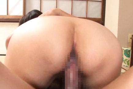 Amazing Asian housewife Nao Katoh gets her pink shaved pussy plowed