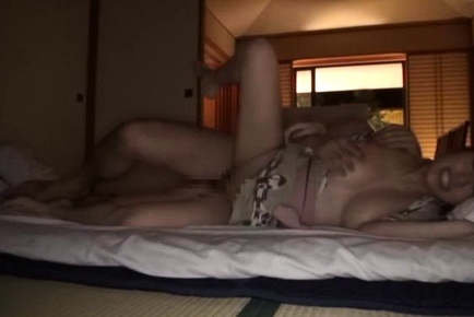 Babe with shaved pussy Chisa Hoshino stimulated with toys and banged